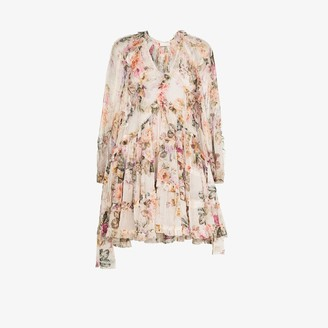 Zimmermann Brighton billow mini dress