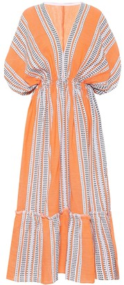 Lemlem Amira printed cotton maxi dress