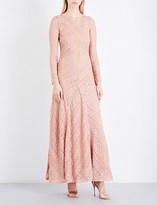 Missoni Crotchet metallic-knit gown