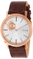 Simplify The 3100 Luminous Hands Watch, 42mm