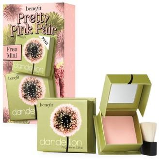 Benefit Cosmetics Pretty Pink Dandelion Blush Duo - $47 Value