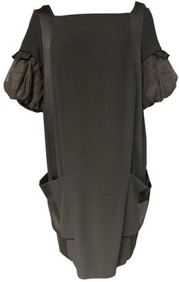 Miu Miu Black Wool Dresses