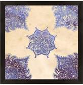 PTM Images Boho Pattern Blue I (Shadowbox Framed Giclee)