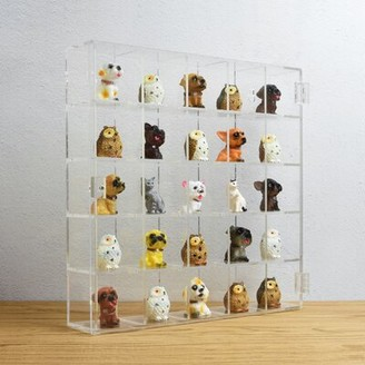 Mountable 25 Compartments Display Case Ikee Design