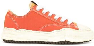 Maison Mihara Yasuhiro Colour-Block Cotton Sneakers