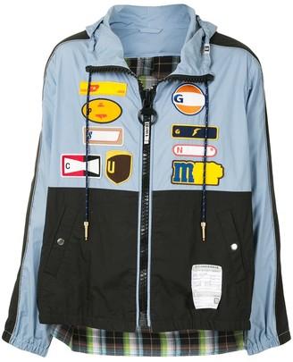Maison Mihara Yasuhiro Back Docking hooded shirt jacket