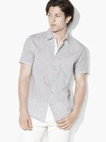John Varvatos Abstract Dotted Shirt