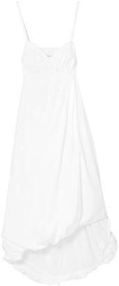 3.1 Phillip Lim Shirred Cotton-poplin Midi Dress