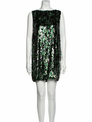 Prada 2018 Mini Dress w/ Tags Green