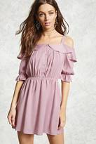 Forever 21 Contemporary Open-Shoulder Dress