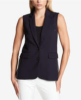 DKNY Two-Button Blazer Vest