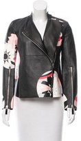 Alexander McQueen 2015 Leather Jacket