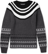 Neil Barrett - Fair Isle Wool Sweater