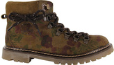Coolway Brown & Camo Buster Suede Ankle Boot