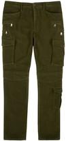 Polo Ralph Lauren Army Green Multi-pocket Cargo Trousers