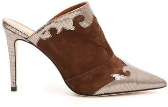 Paris Texas Pointed Toe Mules