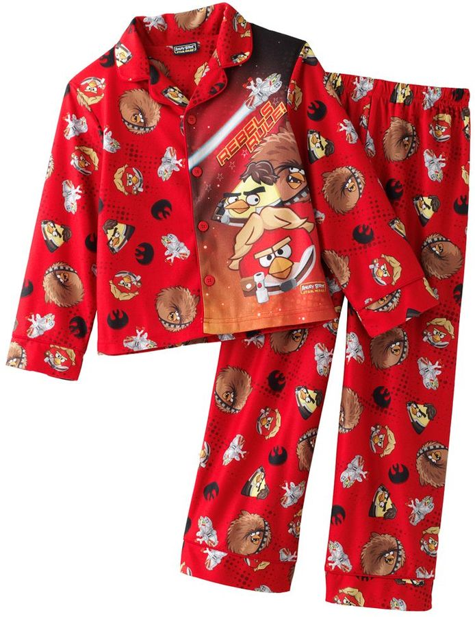 Star Wars Angry birds flyboys 2-pc. pajama set - boys 4-12