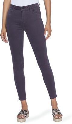 WASH LAB Elizabeth High Waist Skinny Jeans