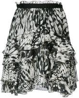 Just Cavalli printed skirt - women - Silk/Viscose - 40