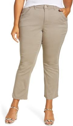 Wit & Wisdom Ab-solution Luxe Touch Cotton Blend Ankle Trousers