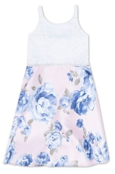 Speechless Big Girls Floral Party Dress