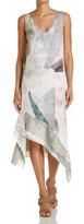 SABA Mineral Print Dress