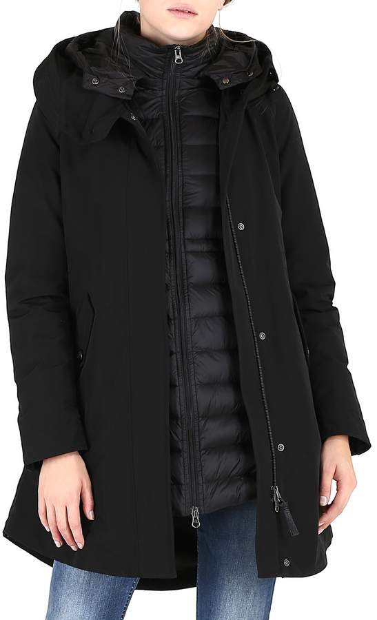 Woolrich Long Military 3-in-1 Parka