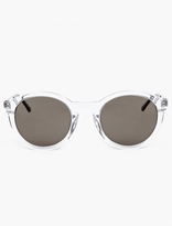 Thierry Lasry Clear Acetate Zomby Sunglasses