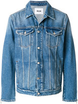 MSGM boxy denim jacket