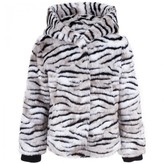 Juicy Couture Faux Fur Tiger Print Jacket