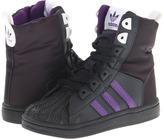 adidas Kids - Superstar 2 Boot (Toddler) (Dark Shale/Power Purple/White) - Footwear