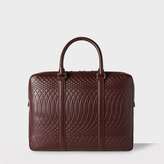 Paul Smith No.9 - Damson Leather Slim Business Folio