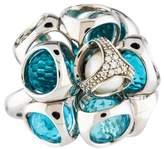 Di Modolo Diamond, Pearl & Crystal Icona Ring