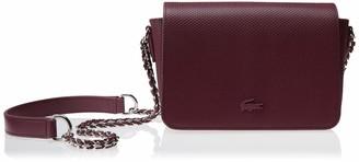 Lacoste Women's Chantaco Leather Chain Crossbody Bag