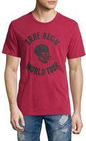 True Religion World Tour Skull Graphic T-Shirt