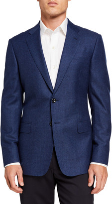 Giorgio Armani Men's Micro Two-Button Jacket
