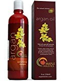 Argan Oil Color Safe Shampoo for Beautiful Hair Natural Hair Care with Jojoba Avocado Almond Peach Kernel Camellia Seed and Keratin Daily Hair Moisturizer for Thick Curly and Thin Straight Hair Types