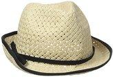 San Diego Hat Company Women's Fedora Open Weave Hat