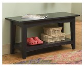 Alaterre Cottage Bench with Shelf