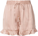 Zimmermann ruffled trim shorts - women - Silk/Polyester - 1