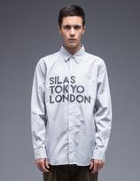 Silas Tokyo/London Print Yoke L/S Shirt
