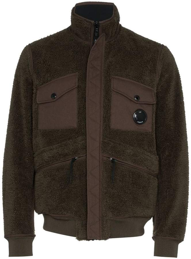 C.P. Company reversible fleece jacket