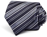 John Varvatos Double Stripe Classic Tie