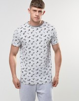 Bellfield Printed Shapes T-Shirt