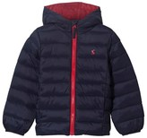 Joules Navy Hooded Puffer Coat