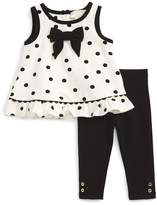 Kate Spade bow top & leggings set (Baby Girls)