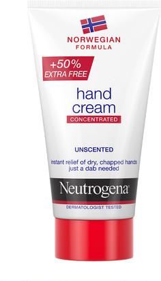 Neutrogena Norwegian Formula Concentrated Unscented Hand Cream 75Ml