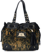Juicy Couture snake print hobo bag