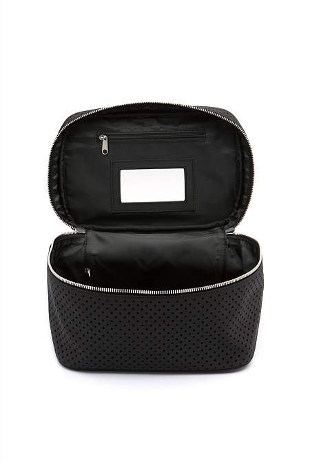 Country Road Perforated Large Cosmetic Case
