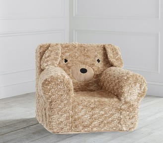 Pottery Barn Kids Labradoodle Faux Fur Anywhere Chair